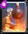 【クラロワ】槍ゴブリン撃退におすすめの呪文・建物カード一覧(ボムタワーの画像)